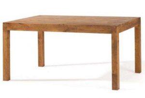 mesa comedor madera rústica y colonial