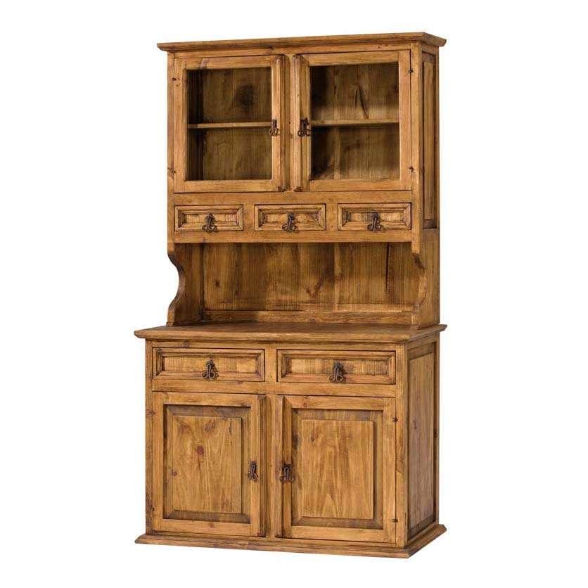 Vitrinas r sticas archivos blog myoc muebles r sticos de madera maciza - Muebles rusticos precios ...