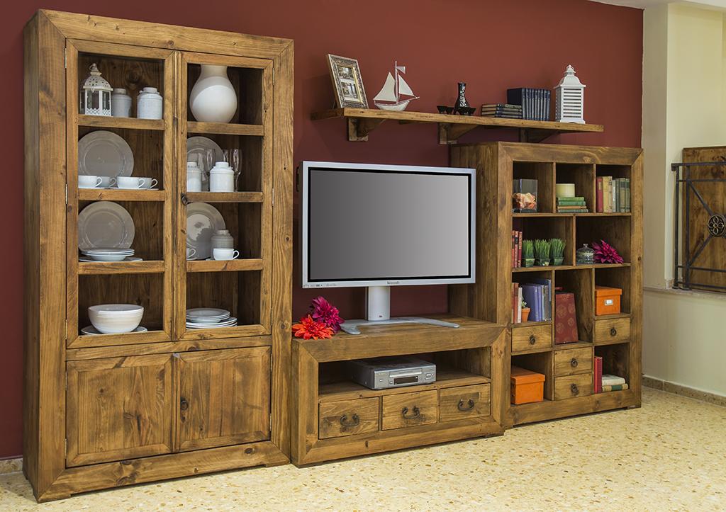 Ventaja de los muebles r sticos de madera maciza de - Casas de madera de pino ...