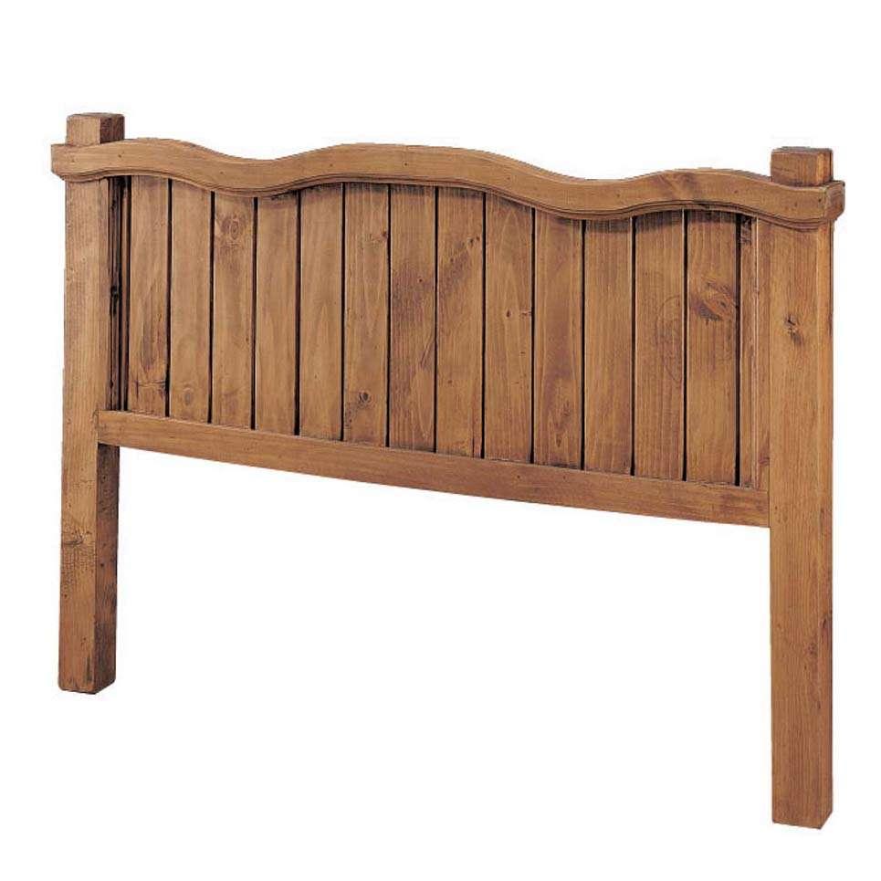 Cabecero r stico de 90 duela blog myoc muebles r sticos - Cabeceros rusticos de madera ...