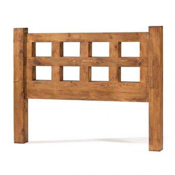 cabecero de madera 90