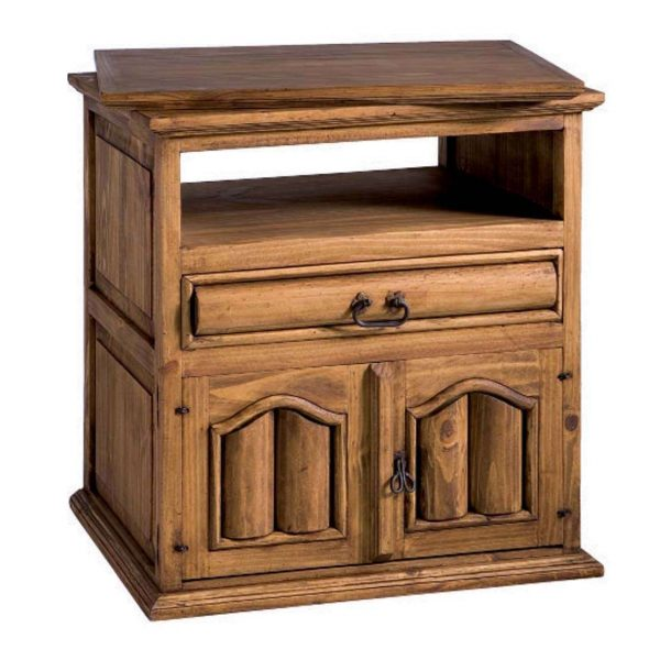 comoda de madera television