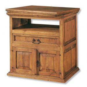 comoda tv madera giratoria