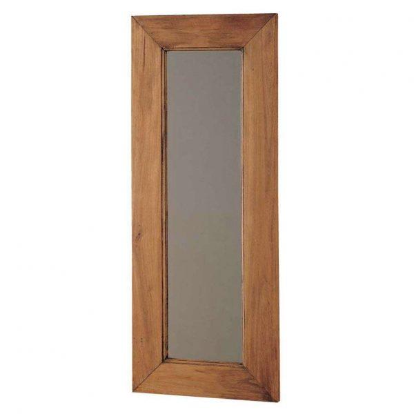 espejo de madera rustica