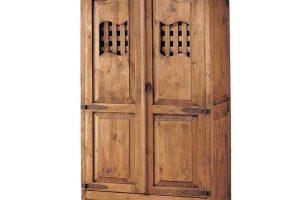 armario rústico con rejilla