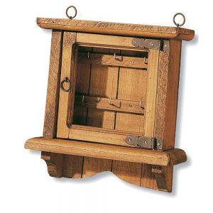 porta llaves de madera